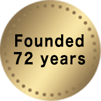Founded 72 years